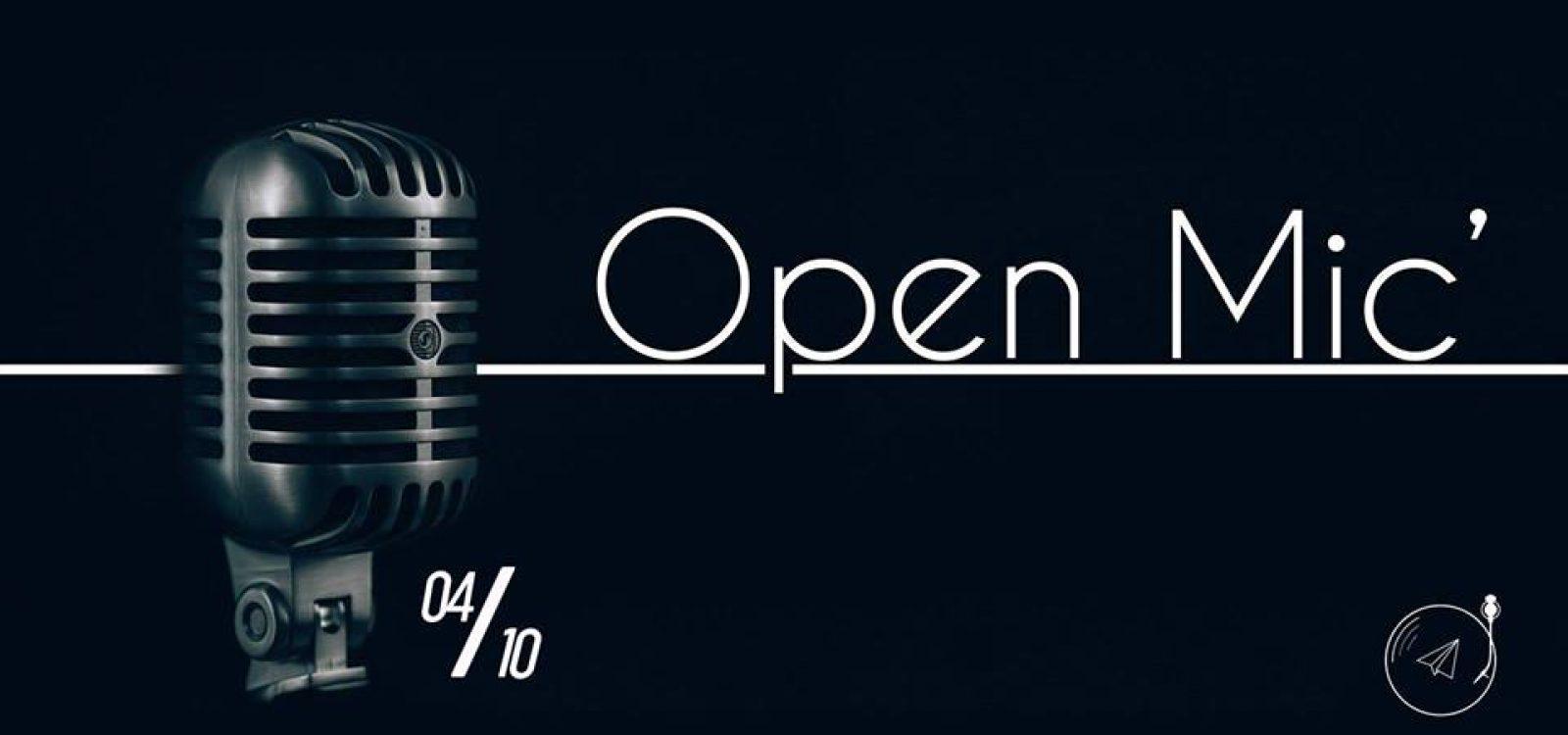 Open mic 1